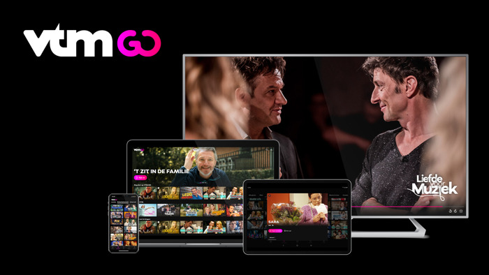 VTM GO wordt 'Media Brand of the Year' op AMMA 2020