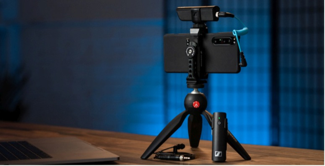 Sennheiser offers nimble solutions for vloggers and creators