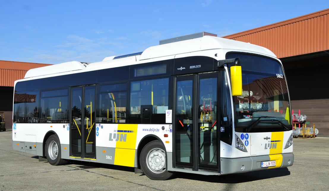 36 nieuwe hybride stadsbussen voor een groener stadsnet Brugge