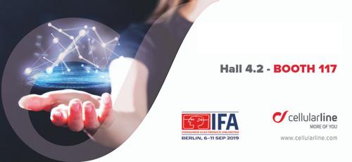 Ontdek de nieuwigheden van Cellularline! - Persmap IFA 2019