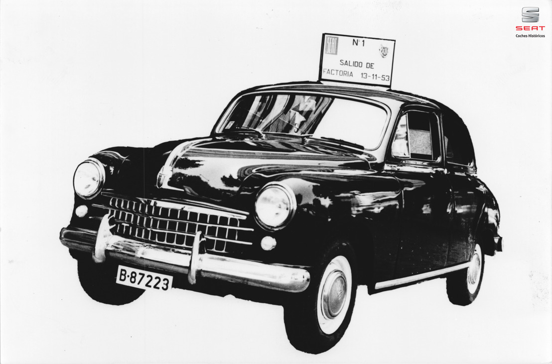 De SEAT 1400: eerste SEAT viert zijn 65ste verjaardag