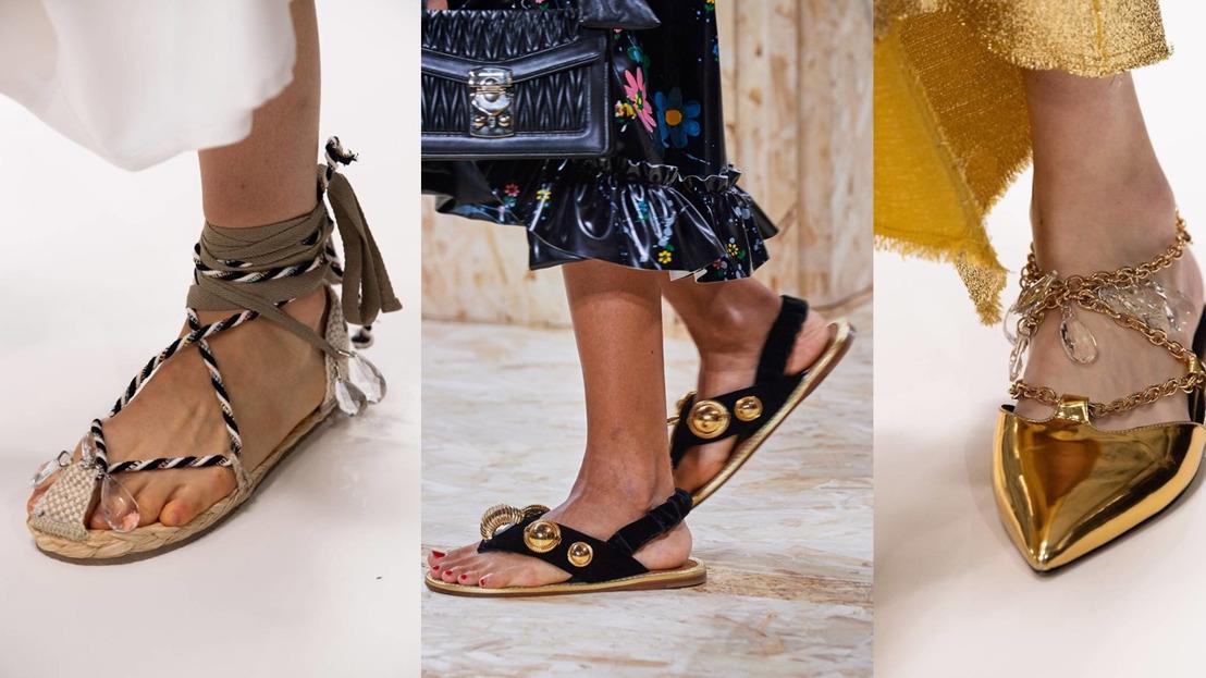 Dit zijn dé sandalentrends voor 2020: Bead It