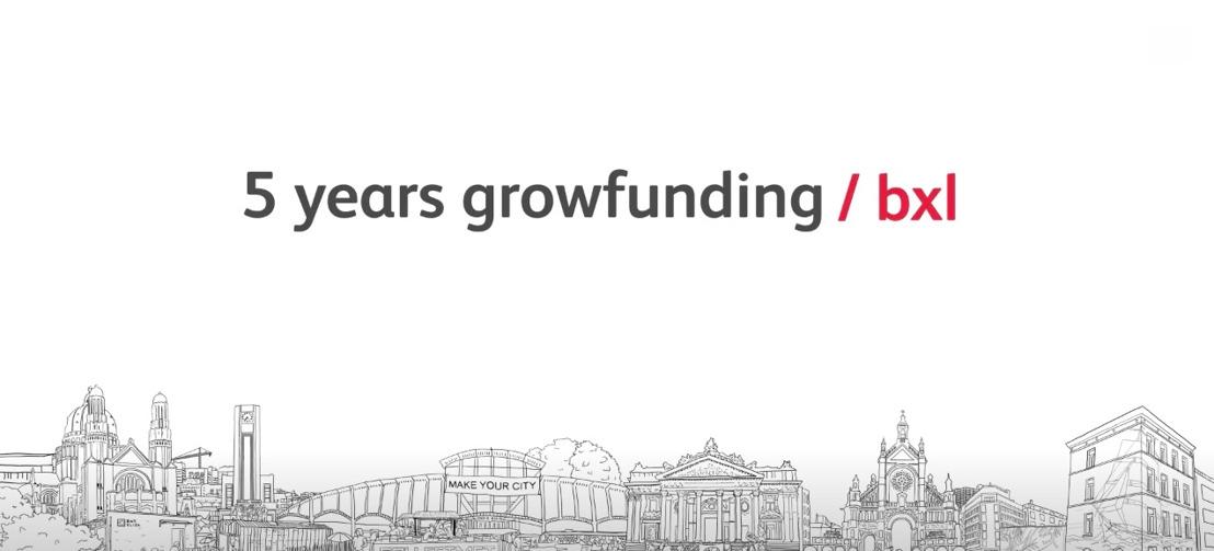 Growfunding viert 5de verjaardag in Beursschouwburg met reflectie, debat en feest.