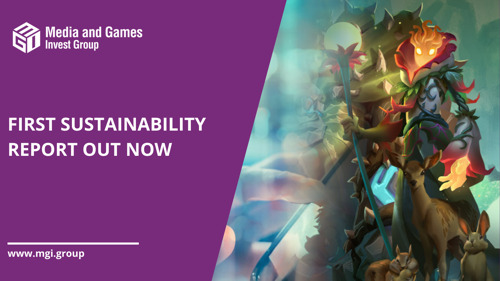 Media and Games Invest published its first sustainability report for the year 2020
