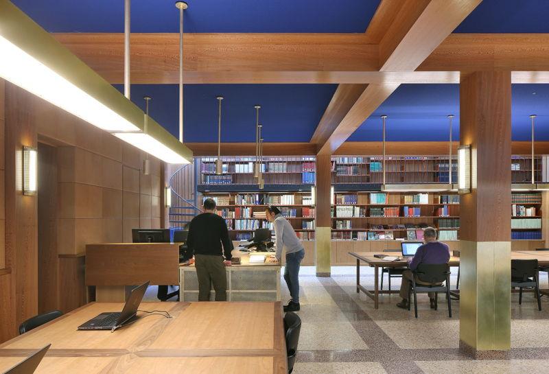New reading room, Museum Plantin-Moretus, photo: Filip Dujardin