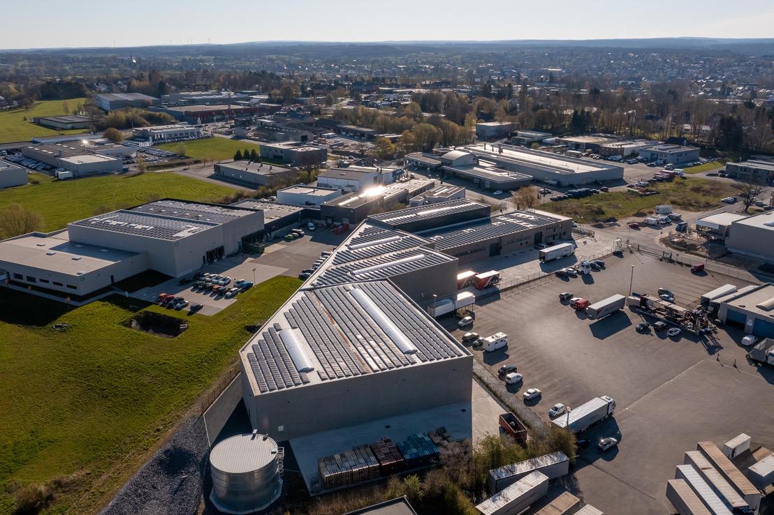 Eurover: ein noch nachhaltigeres Recycling von Hygieneartikeln dank der Sonnenenergie von Luminus