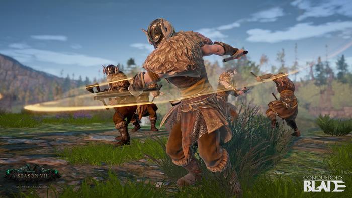 Conqueror's Blade neue Saison startet heute ganz im Zeichen der Wikinger.