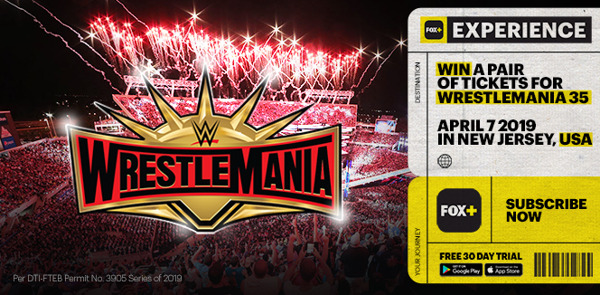 Preview: FOX+ is taking two lucky fans to WrestleMania 35