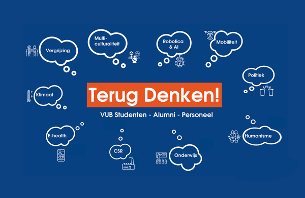 Preview: VUB laat professoren, studenten en alumni 'terug denken' over maatschappelijke uitdagingen