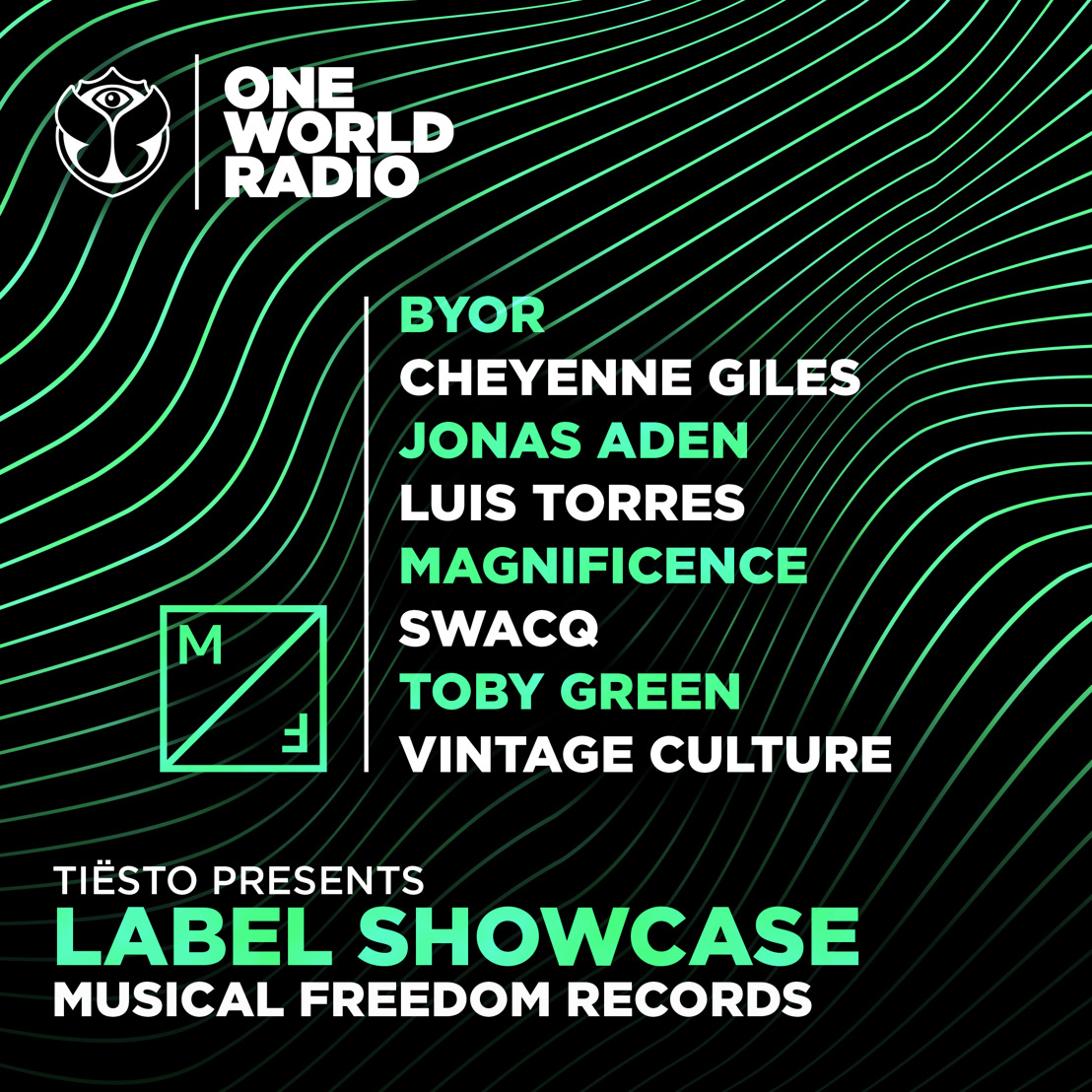 One World Radio launches brand-new monthly special 'Label Showcase', putting a spotlight on a different label every month