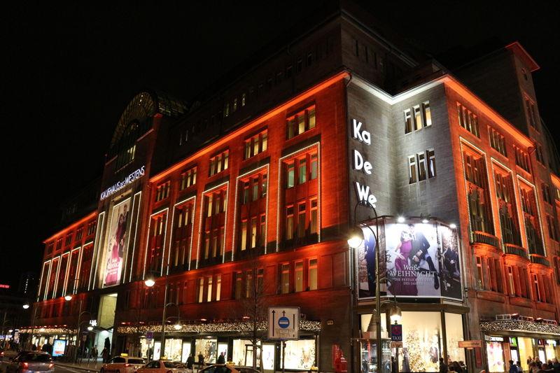 KaDeWe (Kaufhaus des Westens)  Department Store in Berlin, Germany.