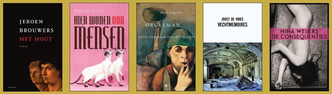De Gouden Boekenuil - de genomineerde boeken