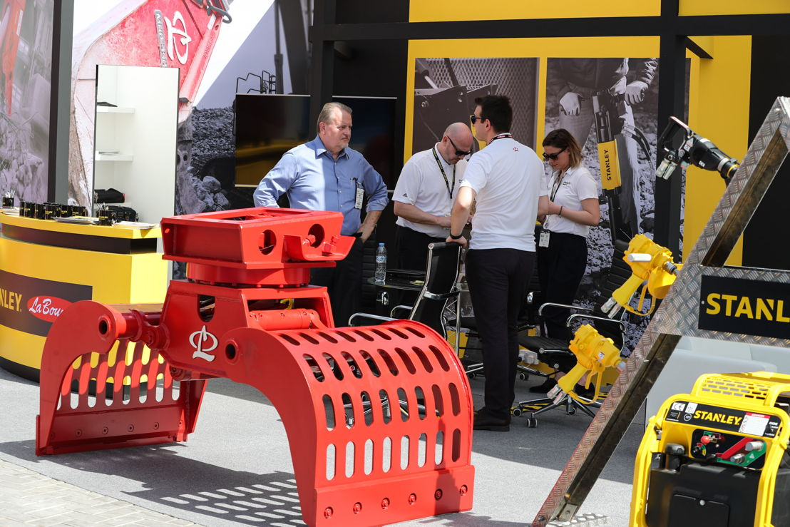 Products on showcase at Middle East's largest heavy machinery event - The Big 5 Heavy