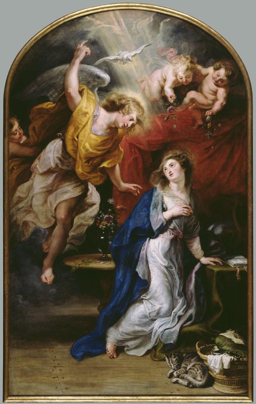De Annunciatie-Peter Paul Rubens (c) Louis De Peuter en Michel Wuyts