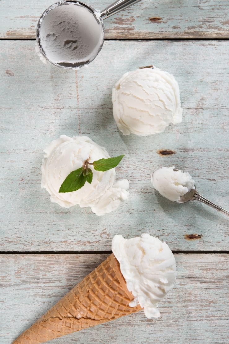 Vanilla Ice Cream - Inspiration for the Vanille deisgn