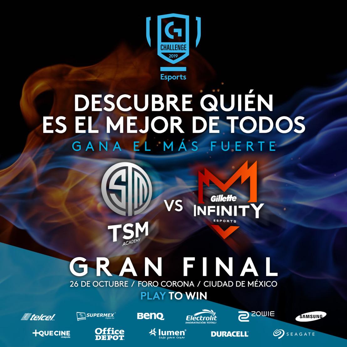 TSM Academy se enfrentará a Gillette Infinity eSports en un showmatch durante Logitech G Challenge 2019
