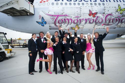 Brussels Airlines affrète deux fois plus de vol pour le 10ème anniversaire de Tomorrowland