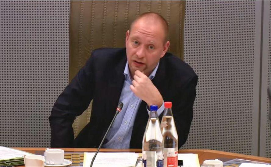 Commissievoorzitter Bart Van Malderen