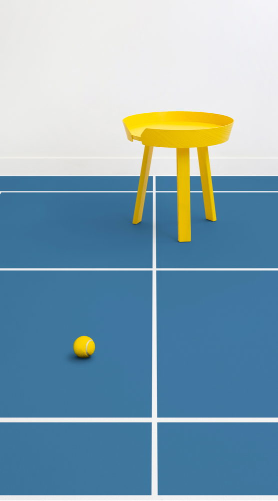 Preview: Bring Tennis Home With This Australian Open Inspired Flooring Design
