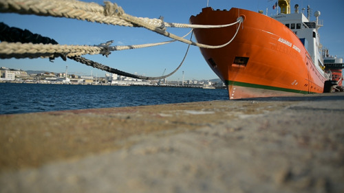 El Aquarius se ve forzado a concluir sus operaciones de salvamento en el Mediterráneo central