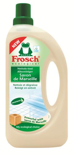 Frosch poursuit son innovation dans le plastique recyclé et lance une nouvelle bouteille 100% HDPE recyclé