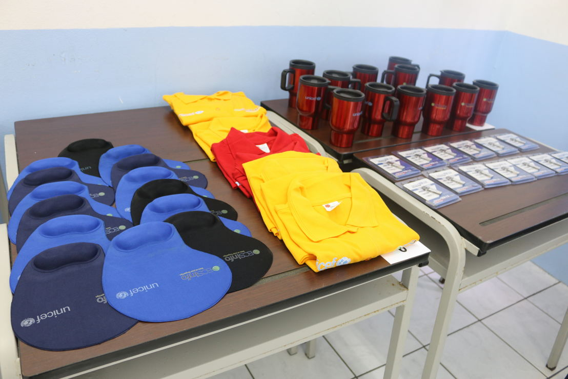 OECSInfo2.0 promotional items.