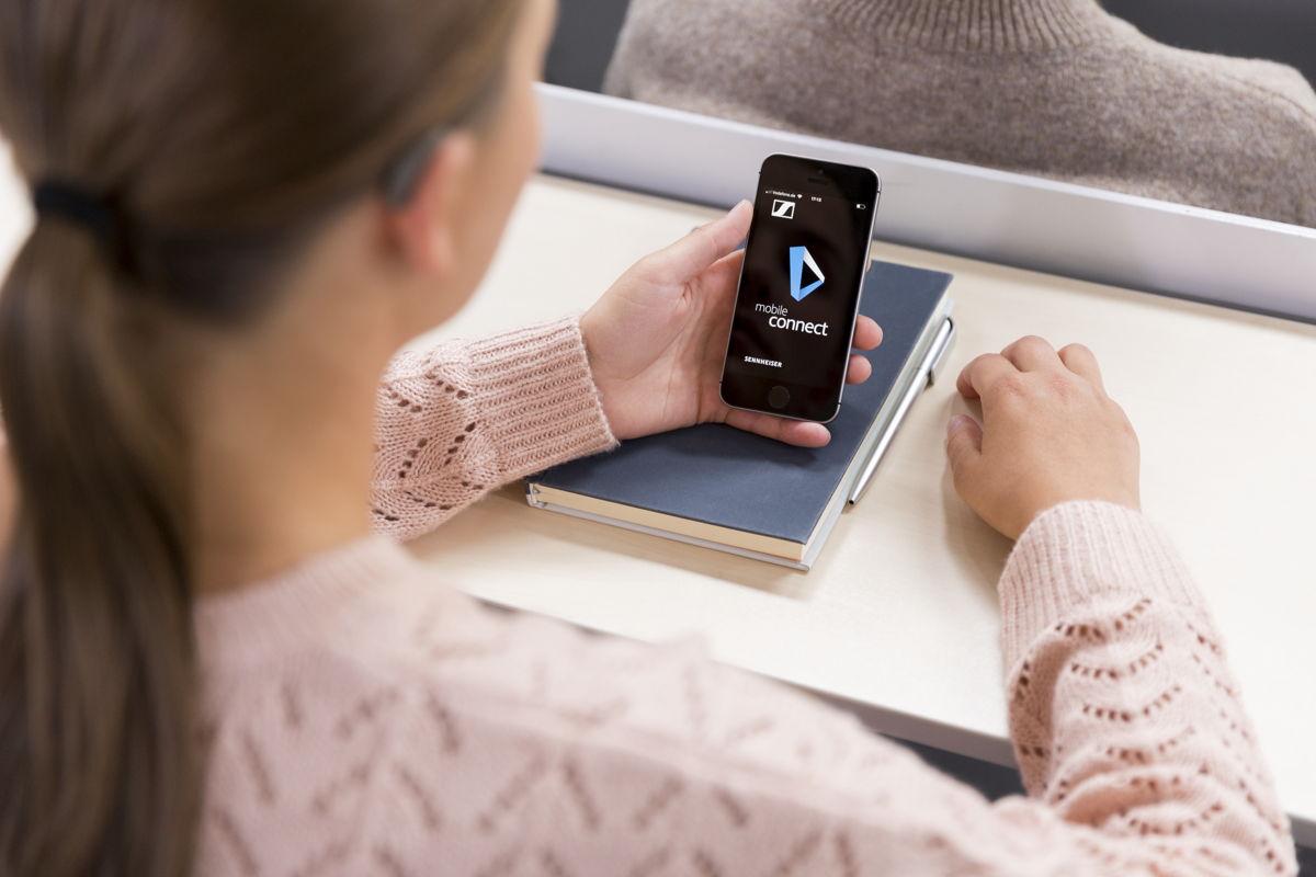 Потоковое аудио на ваш смартфон в реальном времени по wi-fi: Sennheiser Mobile Connect создан для удобства людей с нарушением слуха