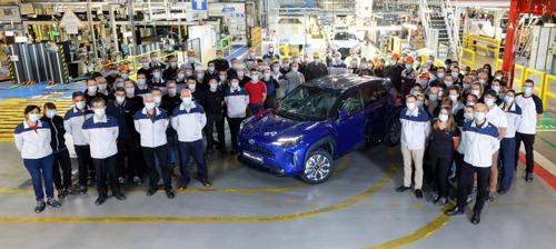Toyota lance la production du nouveau SUV compact Yaris Cross