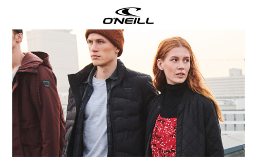 O'Neill brings the original Californian lifestyle to the city streets