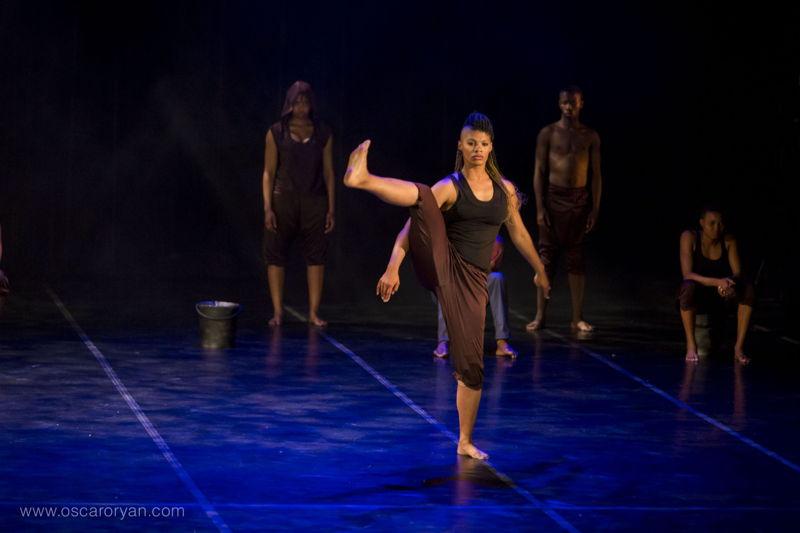 Amykay Klaasen in Abangabonwa. Image by Oscar O'Ryan