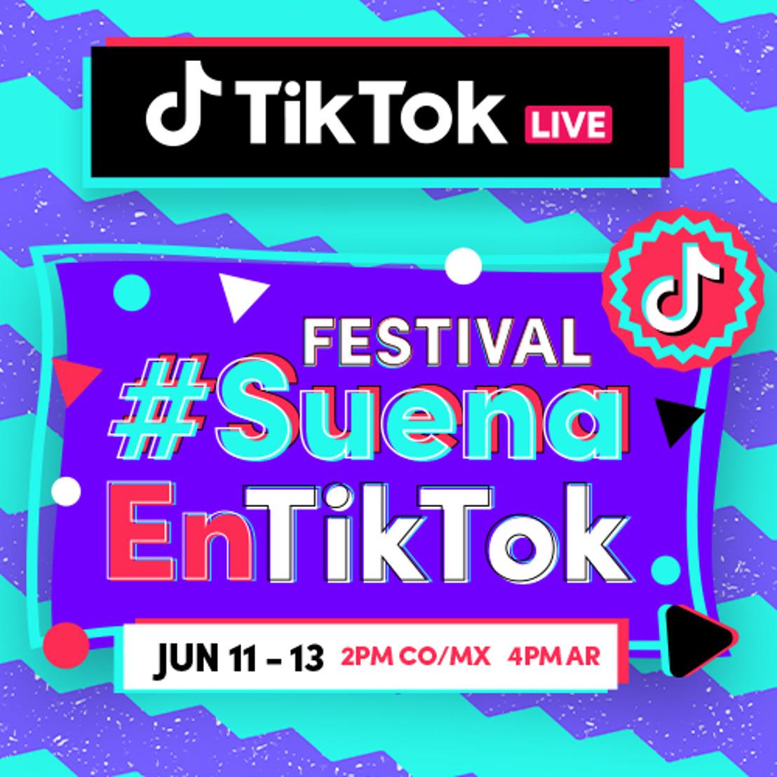 TikTok anuncia #SuenaEnTikTok, el festival musical latino más grande en la historia de la plataforma