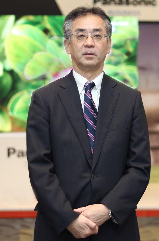Yoshihiro Kanamaru, presidente Panasonic de México