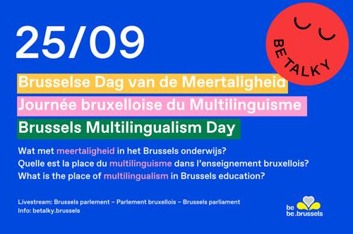 La seconde Journée bruxelloise du Multilinguisme mettra à l'honneur la diversité des langues dans les écoles bruxelloises.