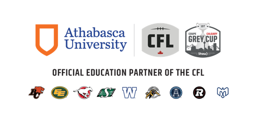 ATHABASCA UNIVERSITY LAUNCHES CONTEST TO DELIVER FANS TO THE 107TH GREY CUP PRESENTED BY SHAW