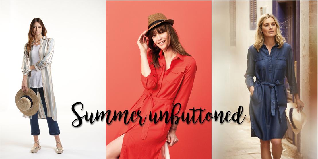 Summer Unbuttoned