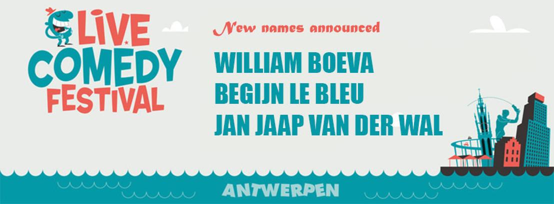 Nieuwe Namen Live Comedy Festival