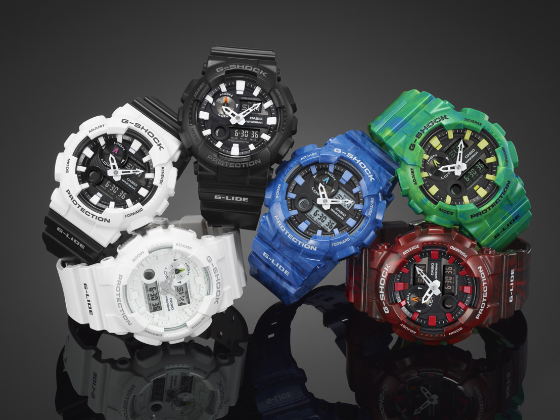 G-LIDE: EL G-SHOCK FAVORITO DE SURFERS Y PATINADORES REGRESA CON MÁS COLOR