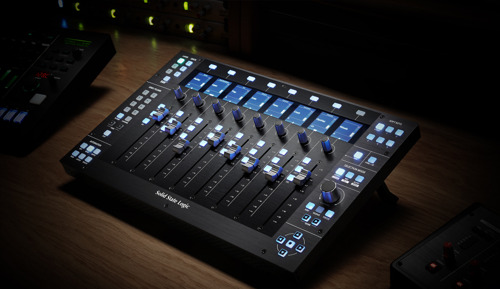 Solid State Logic Introduce UF8 Advanced Studio DAW Controller