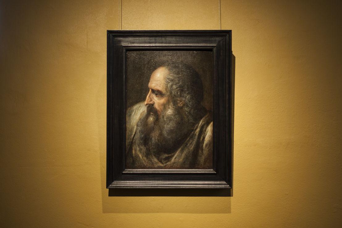 Frans Floris, Studiekop, bruikleen, particuliere verzameling, foto Ans Brys
