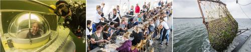 Invitation presse : La nouvelle récolte des moules de Zélande cultivées sur fond de mer sera remontée par un sous-marin néerlandais