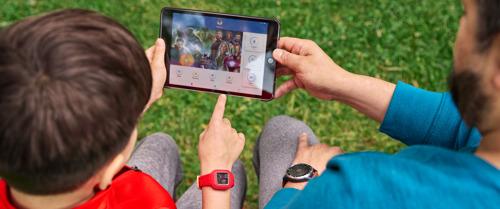 Garmin vívofit jr. 3 : un tracker d'activité pour enfants qui transforme les activités physiques et les corvées en moments fun