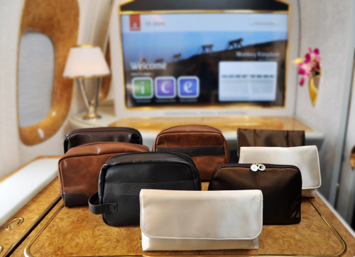 Airlines Emirates Business Class Bvlgari Amenity Kit Products Hot Sale