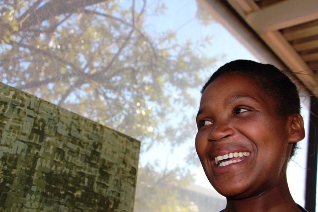DR-TB patient Sinethemba Kuse. Photographer: MSF