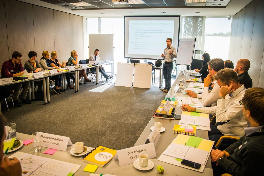 De academies bestaan uit inspiratie en interactieve sessies