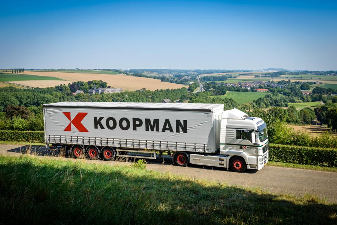 DKV registreert 115.000e OBU voor Koopman Cargo