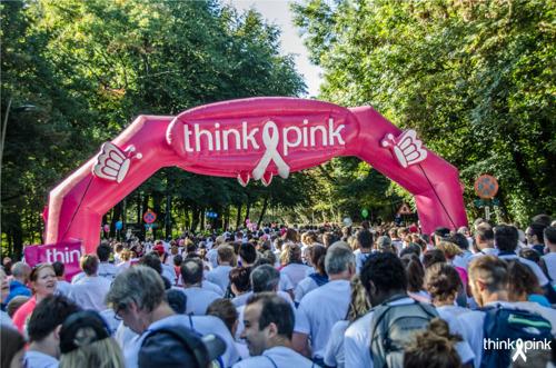 Lopen en wandelen tegen borstkanker op 29 september tijdens de Race for the Cure