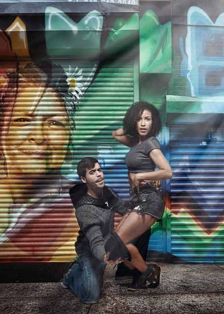 Usnavi and Vanessa <br/>[L-R] Diego Klock-Perez; Julissa Sabino<br/>Photo by BreeAnne Clowdus