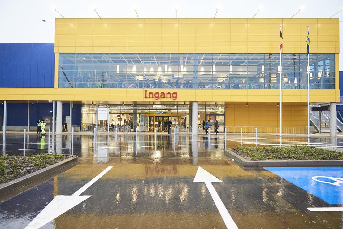 Totale retailverkoop voor de IKEA Group bedraagt circa EUR 34,1 miljard