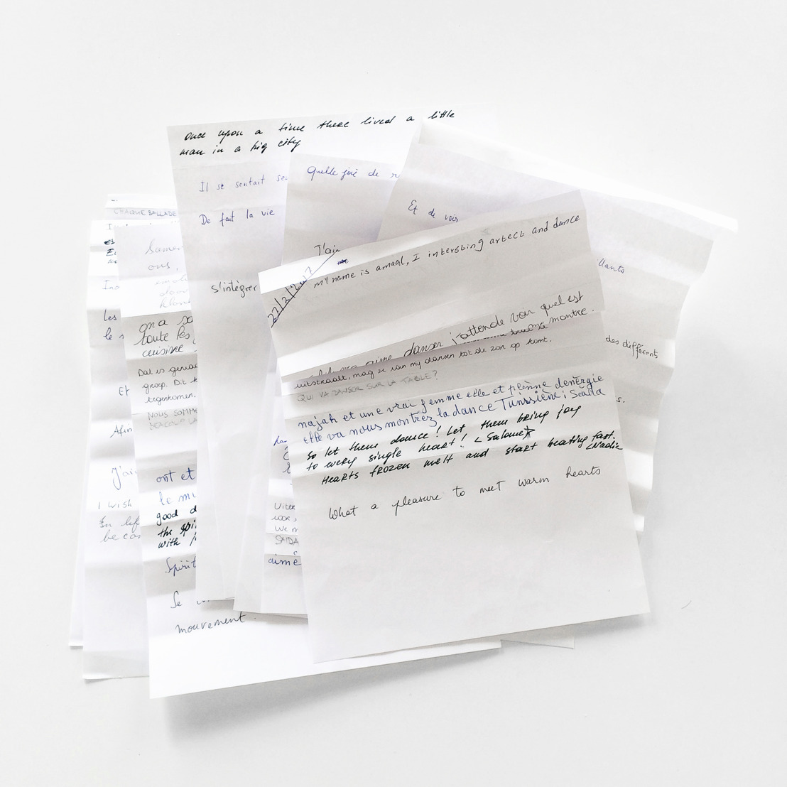 Hana Miletic + Globe Aroma - txt, Is Not Written Plain
