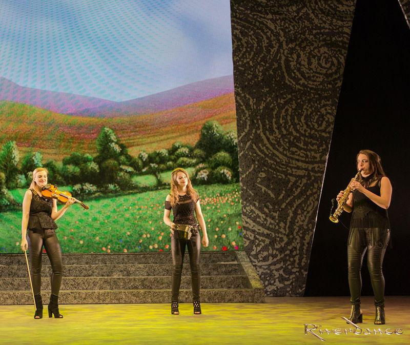 Caption: Scenes from Riverdance<br/>© Riverdance.